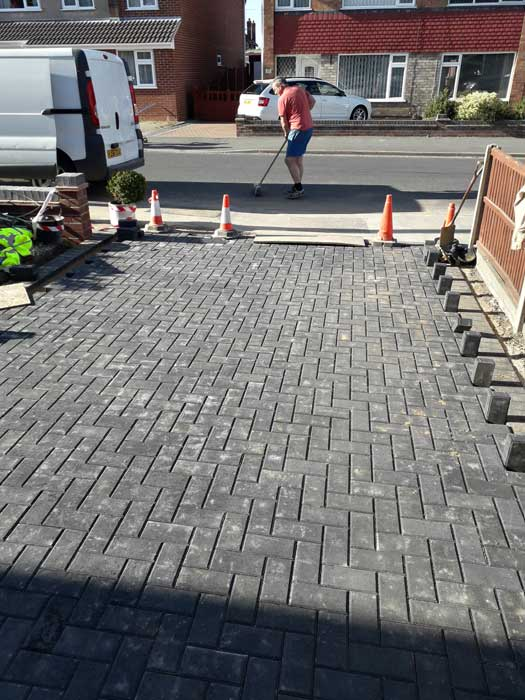 Block paving Lincoln