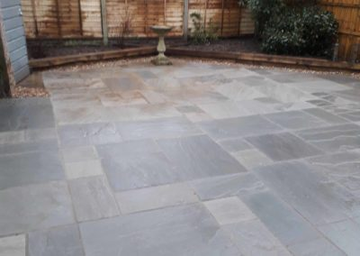 new patio in Lincolnshire