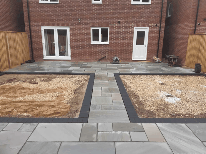 patio in Lincoln
